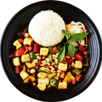 Kung Pao Tofu - Tofu Kung Pao