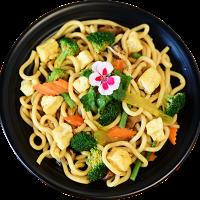 Udon Xao Tofu -  Smažené Udon Nudle s Tofu