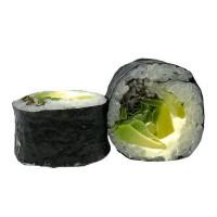514. Futomaki 6ks: Avokádo, mango, okurky, žlutá ředkev